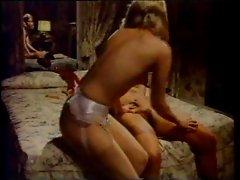 Vintage lesbians making love