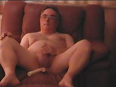 Mature Exhibitionist Wanking