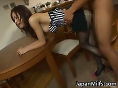 Japanese hooker banged in pantyhose