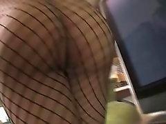 Foxy tranny Domino in hardcore anal sex