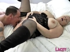 Pussy licked brit granny