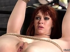 Redhead immigrant anal banged by officer