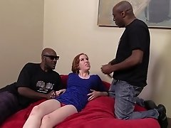 Appealing Redhead Dame With Big Tits Enjoying Her Anal Bring Screwed