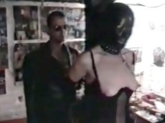 Amateur BDSM in 1994 with slave Rosa