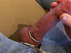 Cockring wank