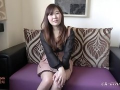 Hairy Asian lady toyed before getting smashed hard in POV