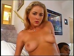 Anal blonde Anna Belle gets cock in pussy and tight asshole