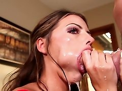 Huge dick for cock sucking slut Adriana Chechik
