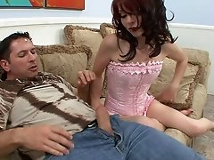 Redhead called Jessi is getting dicked and enjoying it very much