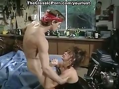 Vinatge chick Renee Morgan is fucked by biker Marc Wallice in xxx video