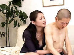 Stunning mature oriental chick gets rammed hard from behind