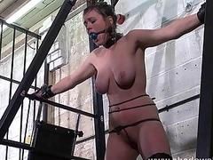 Tender but passionate domination for a big titty BDSM-lover bitch