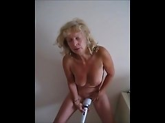 Hot Standing Masturbation