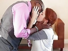 Redhead teen Amarna Miller fucked by BBC