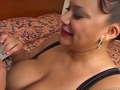 Sweet bosomy ghetto hoes getting cumshot on their tits