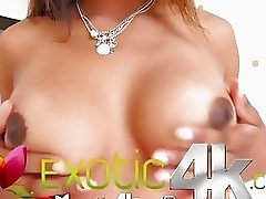 Exotic4K - Hot ebony Tiffany Tanner takes large cock