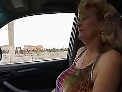 Slutty Old Granny takes Young Cock POV Hotel Fuck