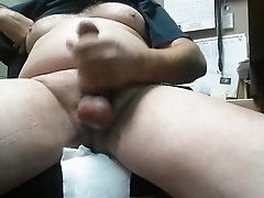 Wanking at work