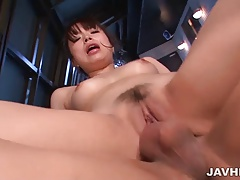 Poolside sex with delicious girl Hinata Tachibana