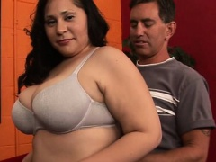 Ebony chap fucks fat awesome girl