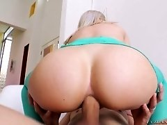 Cute blonde Goldie Glock is eager for crazy and hardcore anal sex