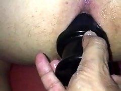 Pushing fruit juice machine plunger 2