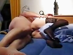 Mature Amateur Wife Toys Her Ass...