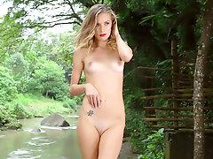 Nature Loving Blonde