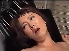 Hot asian in dependence on pleasure