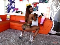 Bootylicious black gal assfucked