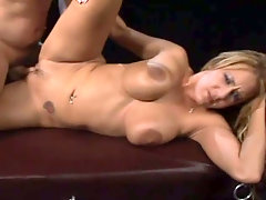 Fabulous emotional and curvy stripper is busy with blowing tasty cock