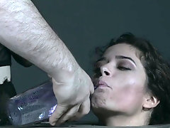 Extreme gagging and domination with Victoria Voxxx