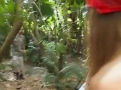 Teens sharing dick at camping