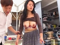Lovely Japanese wife gets fetished and her pussy rubbed Hardcore