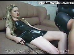 Nothing pleases Elen like having a slave lick her sweet vagina