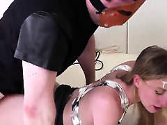 Frisky kitten is brought in anal loony bin for harsh 44Ded