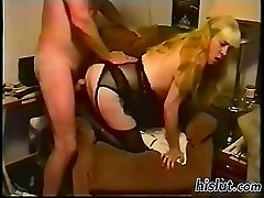 This slut gets screwed