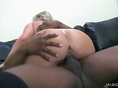 Cock riding time with saucy mom Brianna Brooks and skinny Mischa Cross