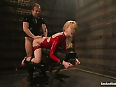 Kinky master in latex fucks sex appeal latex chick Annette Schwarz