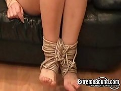 Showing a Russian blonde what rope play feels like
