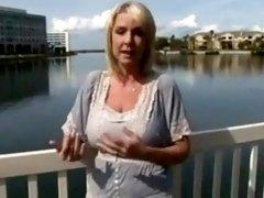Busty  Milf  Blonde gets a creampie