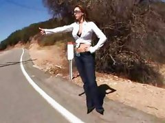 Kaylynn The Hitchhiker...F70