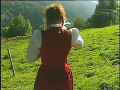 Im Wald und auf der Heidi Trailer