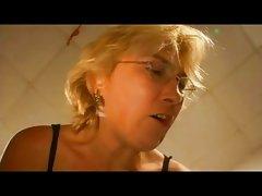 German Blond Busty Mature Hausfrau