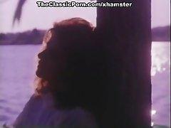 Krista Lane, Sheena Horne, Jamie Gillis in classic porn clip