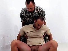 Gay military locker room tube R&R, the Army69 way