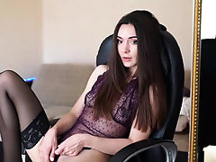 Goth Girl Webcam Masturbate