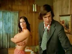 Hot 1970's MILF fucks Salesman