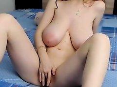 milf with big tits masturbate webcam show part 1