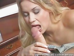 Silverstone DVD - Hot blond babe cummed
